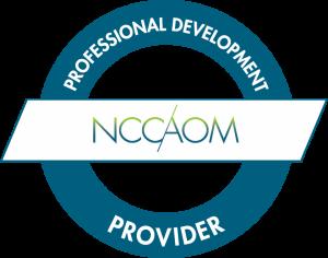 NCCAOM Provider Badge