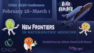 2020 Save the Date - CNDA's Conference: New Frontiers