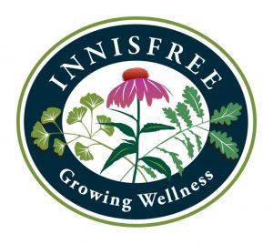 Innisfree Farm and Botanic Garden logo