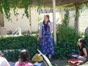 SCNM Herb Garden Deborah Frances