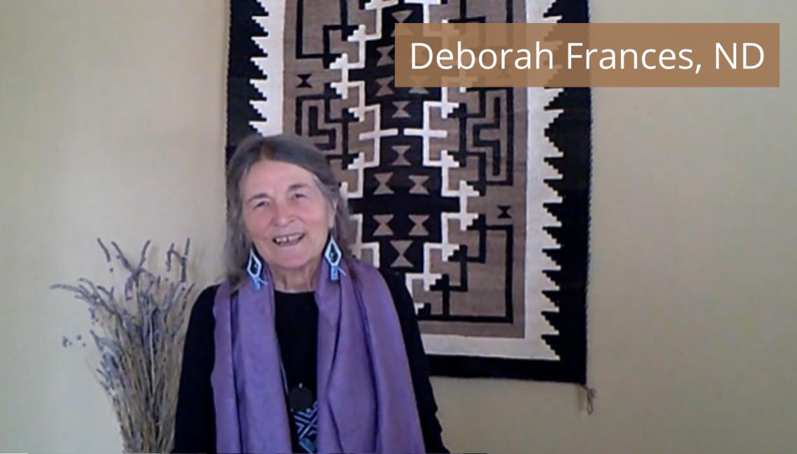 SW21 video still of Deborah Frances, ND