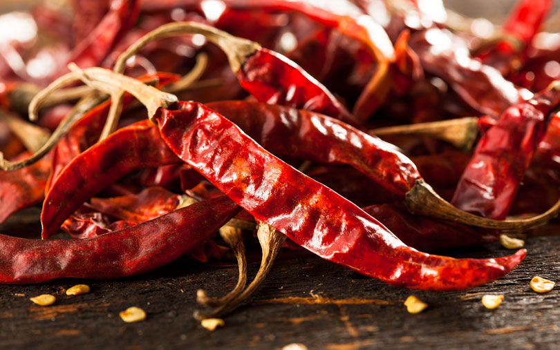 dried peppers capsaicin